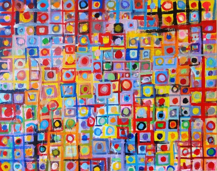 Julian Rapp, Untitled (Dots)