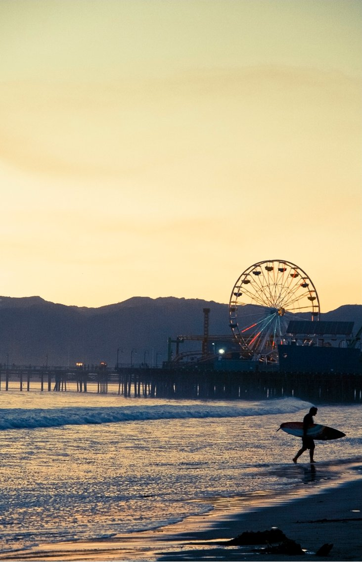 Deborah Yun, Santa Monica Surf
