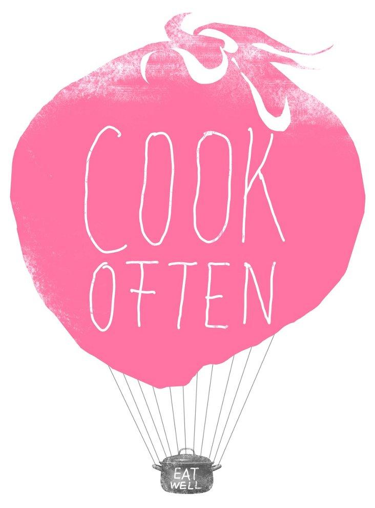 Ana Petrak, Cook Often, Framed