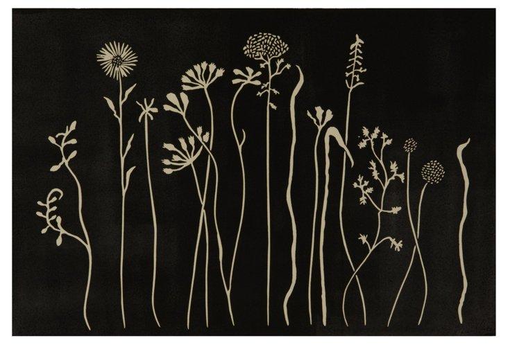 Jennifer Ament, Black Field of Flowers