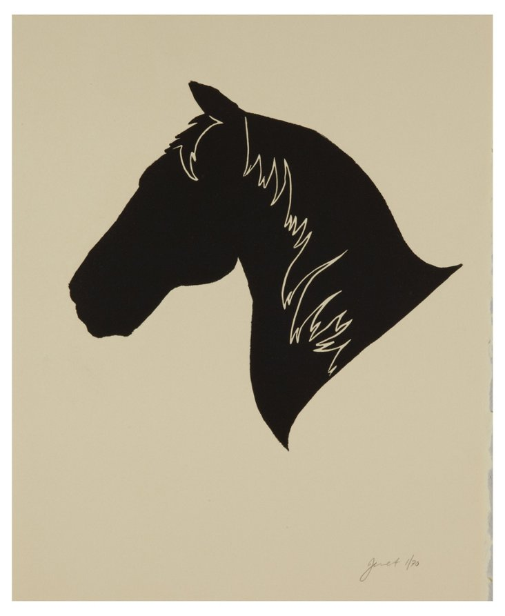 Jennifer Ament, Horse Head Left