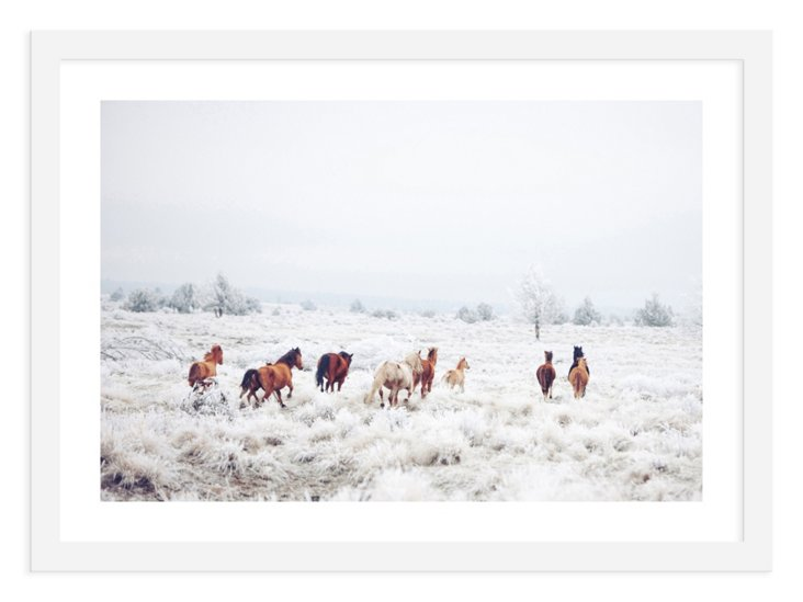 Kevin Russ, Winter Horses