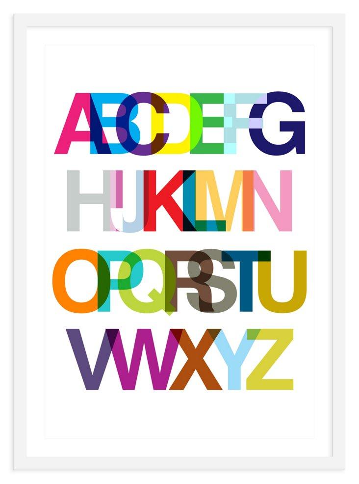 ModernPOP, Alphabetic Ode to Helvetica