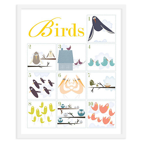 ModernPOP, Counting Birds 1-10, Mini