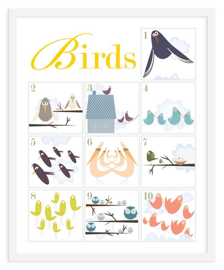 ModernPOP, Counting Birds 1-10