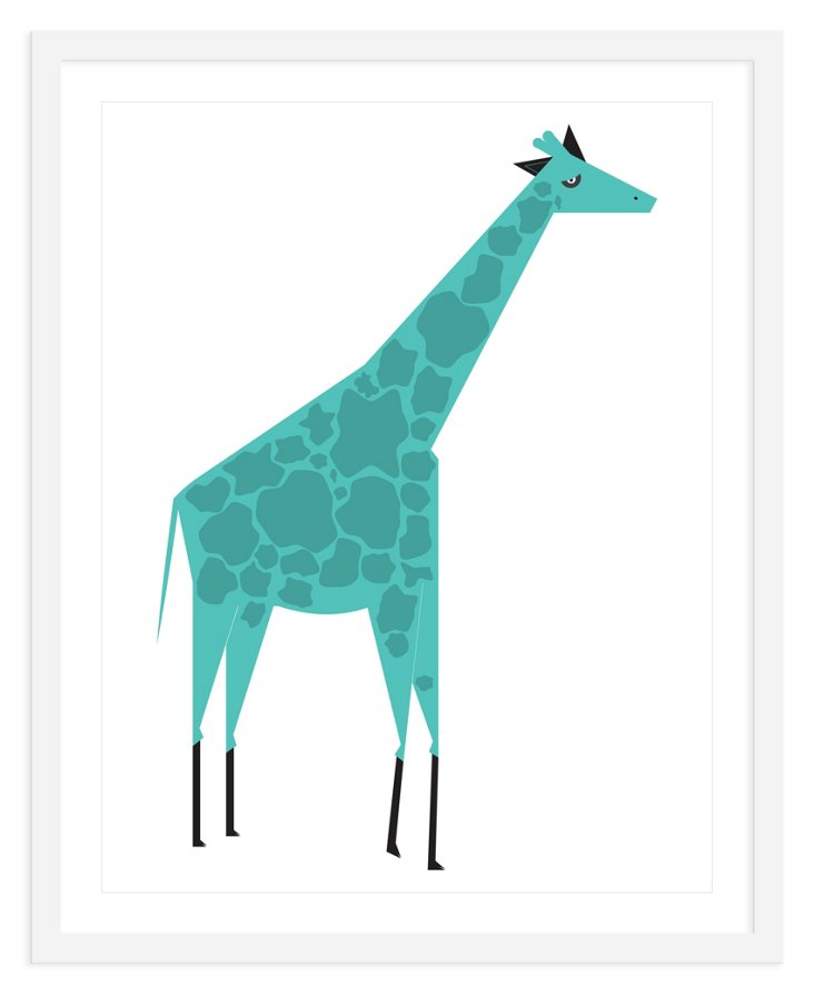 ModernPOP, Giraffe Blue