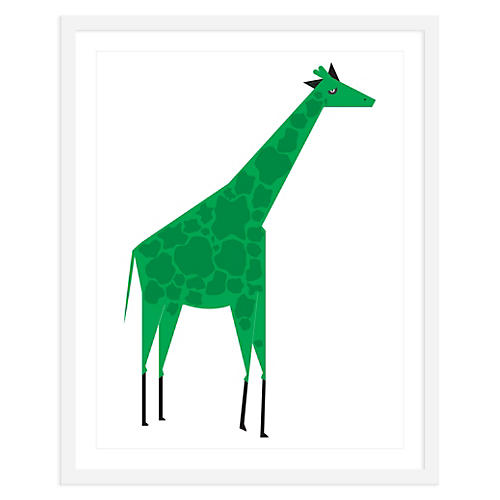 Giraffe Green, Mini, ModernPOP