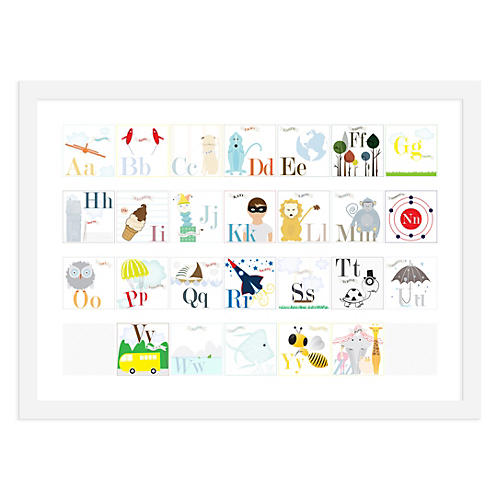 ModernPOP, Alphabet Animals