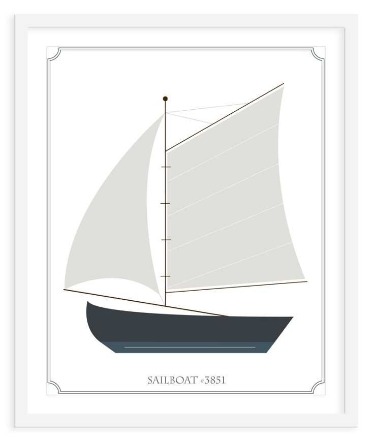 ModernPOP, Sailboat #3851