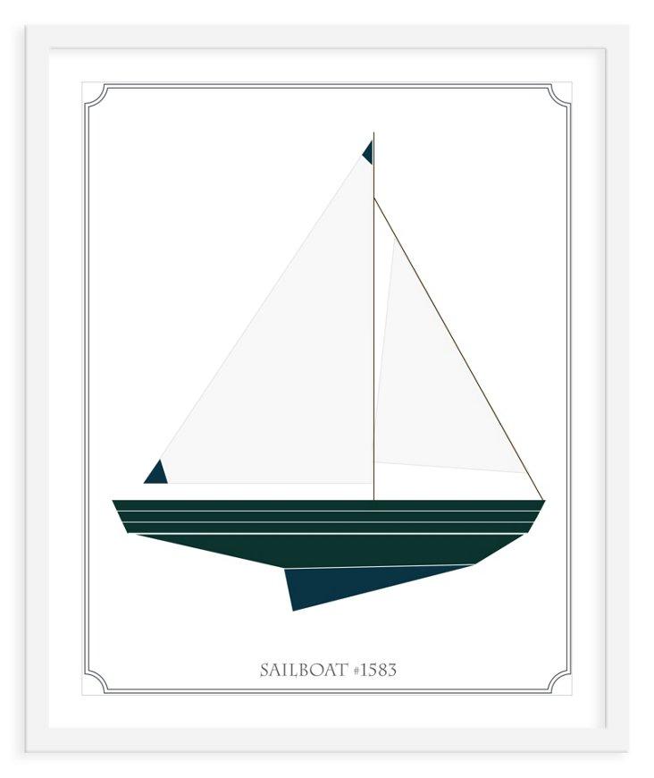 ModernPOP, Sailboat #1583