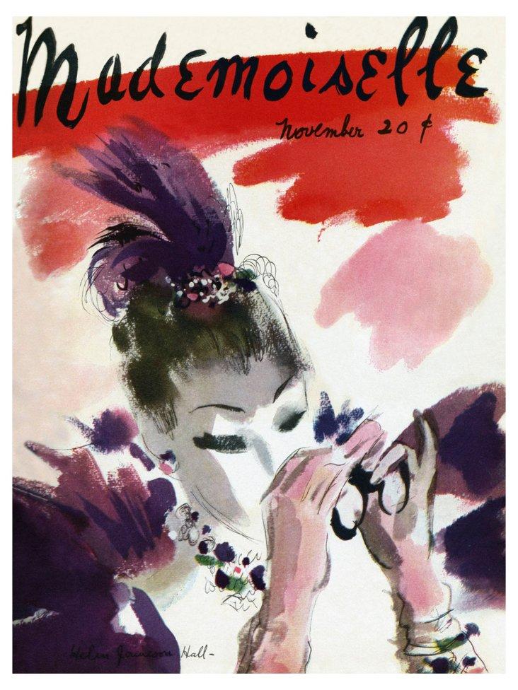 Mademoiselle Cover, Nov. 1935