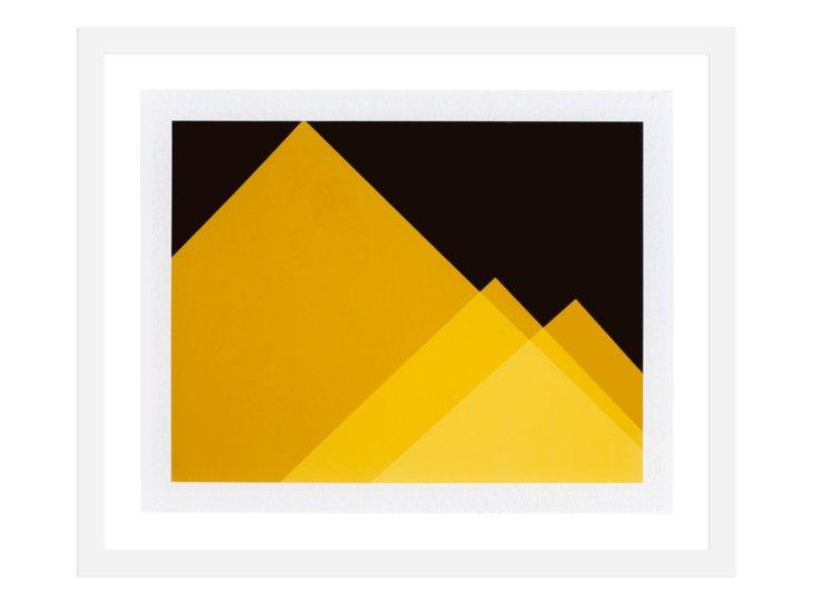 Joan Cuenco,  Yellow Pyramids