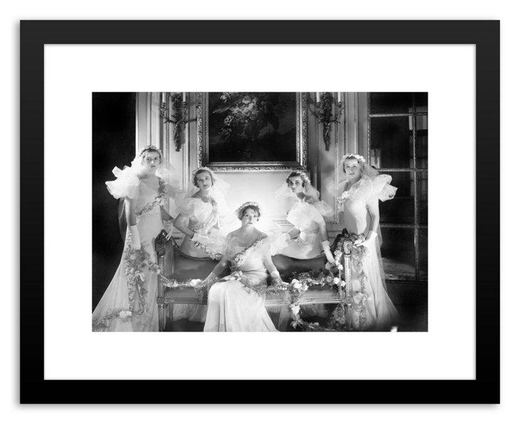 Bridesmaids, Vogue May 1 1933-DNU