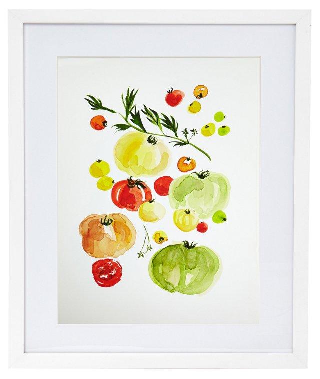 Heirloom Tomatoes, Virginia Johnson-DNU