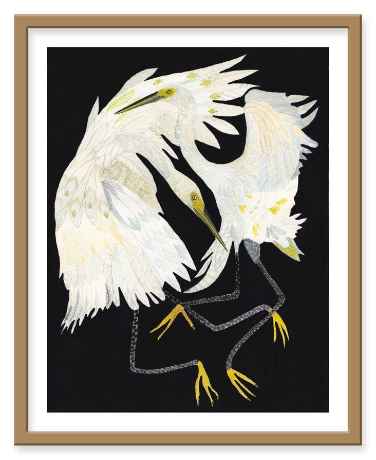 Michelle Morin, Dancing Egrets
