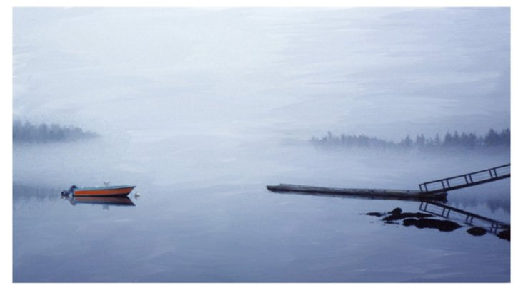 Ry Smith, Boat in Mist