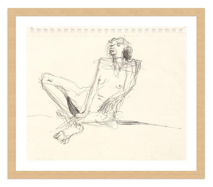 Jo Ann Belson, Nude in Repose