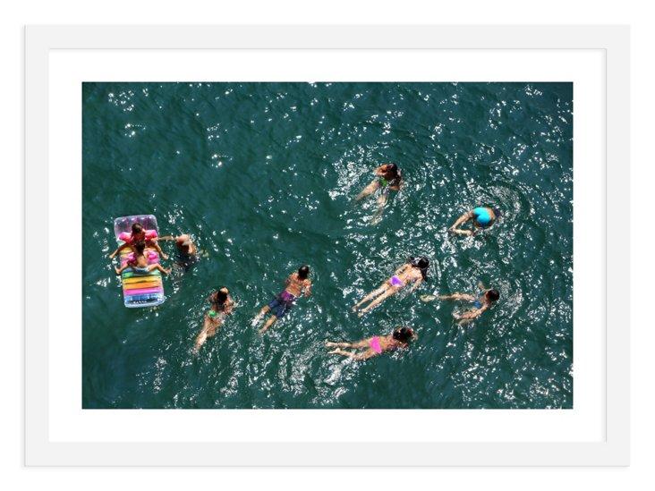 Judith Gigliotti, A Colorful Swim