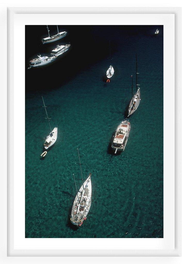 Slim Aarons, Blue Seas