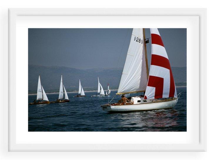 Slim Aarons, Flotilla, 1969
