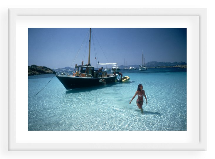Slim Aarons, Yachting Trip in Sardinia