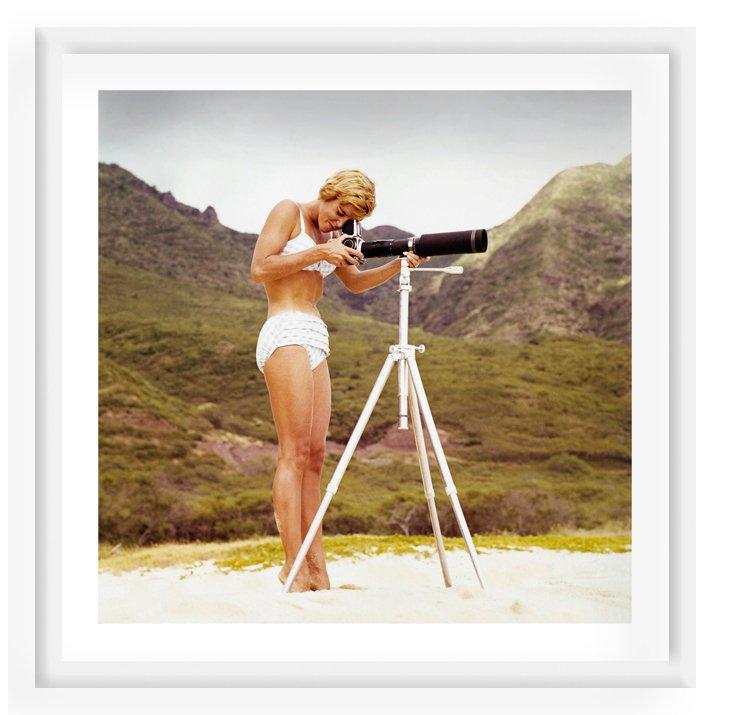 Tom Kelley, Bikini Girl and Camera