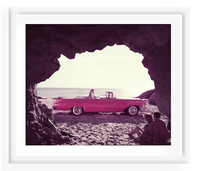 Tom Kelley, Beached Convertible