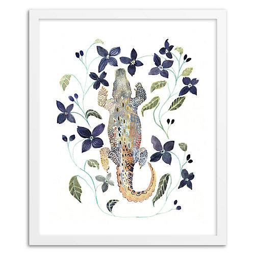Michelle Morin, Alligator and Clematis