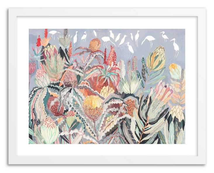 Michelle Morin, Protea and Herons