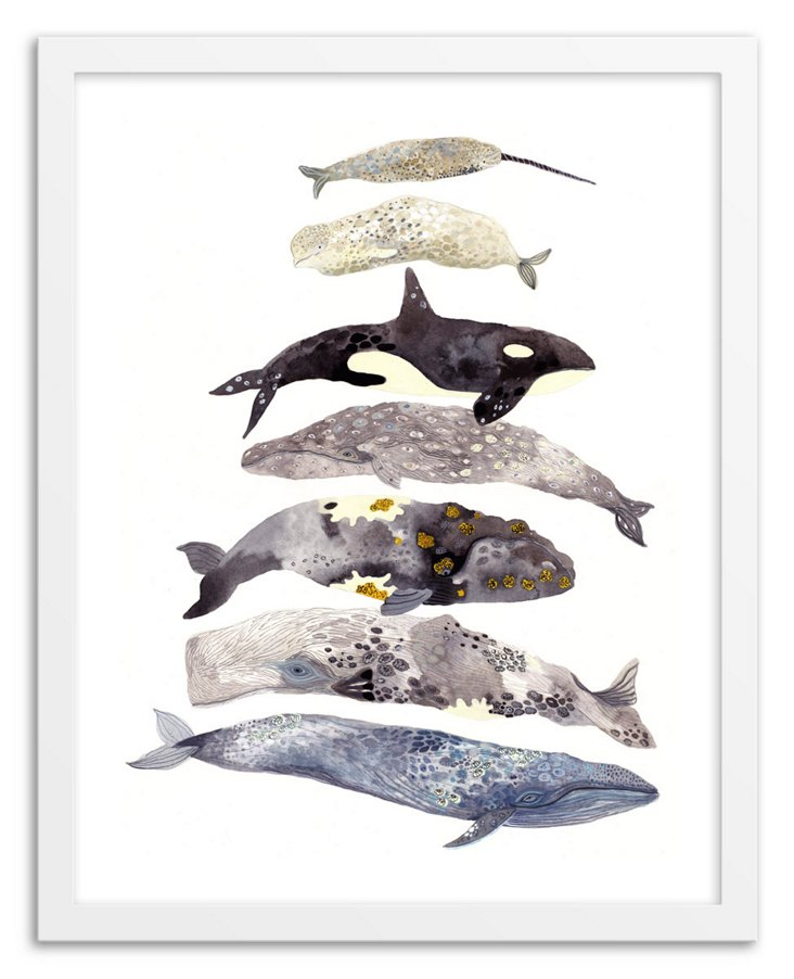 Michelle Morin, Seven Whales Stacked