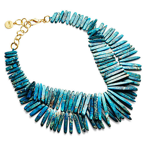 Turquoise Point Necklace