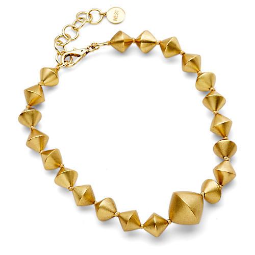 Bi-Cone Strand Necklace