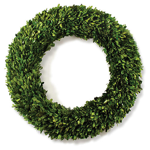Corbett Preserved Wreath, Green