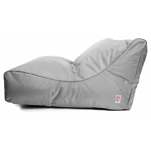 Uluwatu Bean Bag, Silver