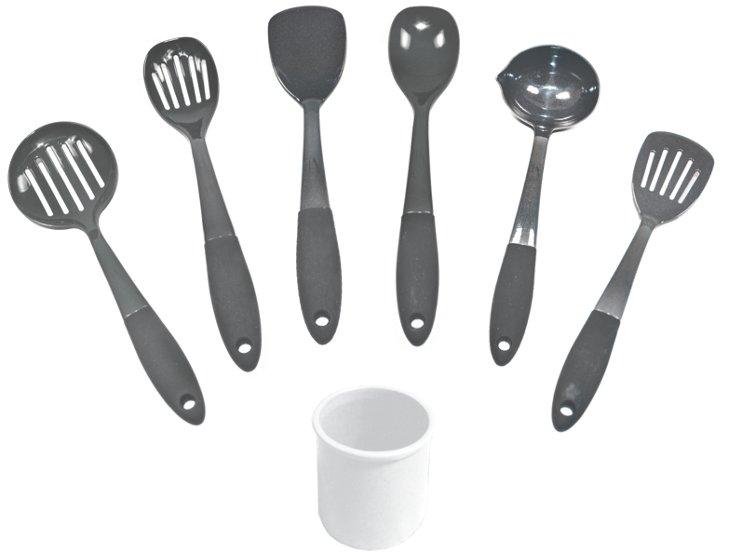 6-Pc Tool Set w/ Crock