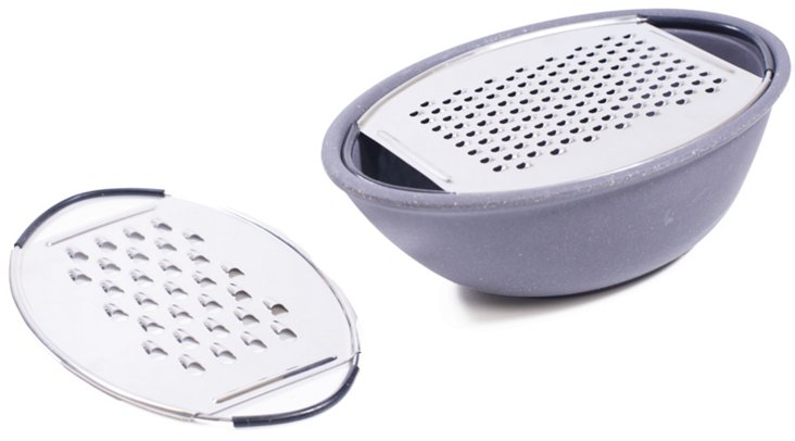 Oval Grater w/ 2 Blades