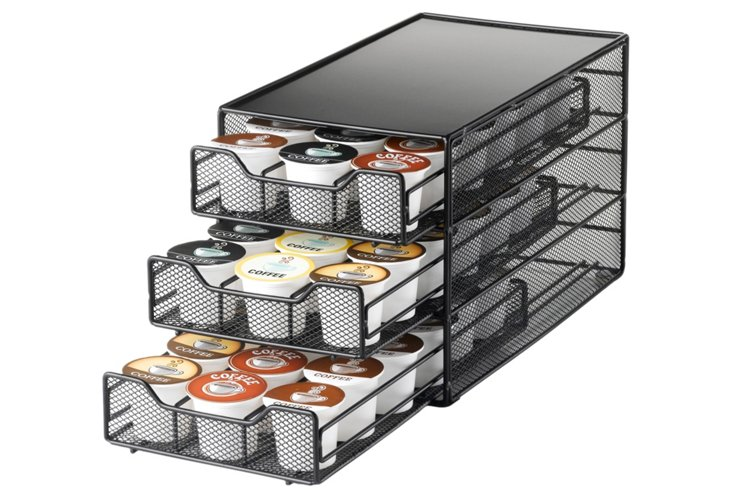 54 Coffee Pod 3-Tiered Drawer