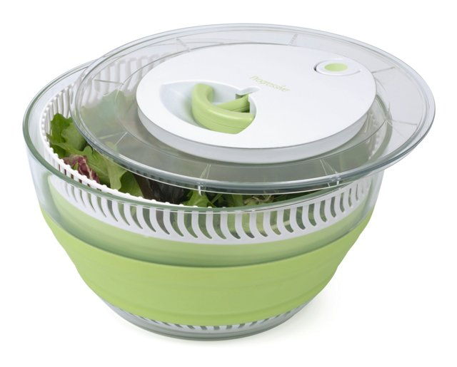 Collapsible Salad Spinner, 4 Qt