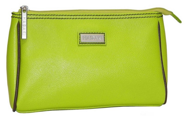 Leather Zip Case, Green