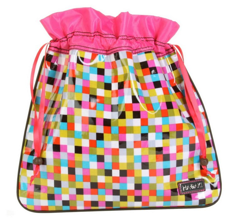 Drawstring Pouch, Cubes