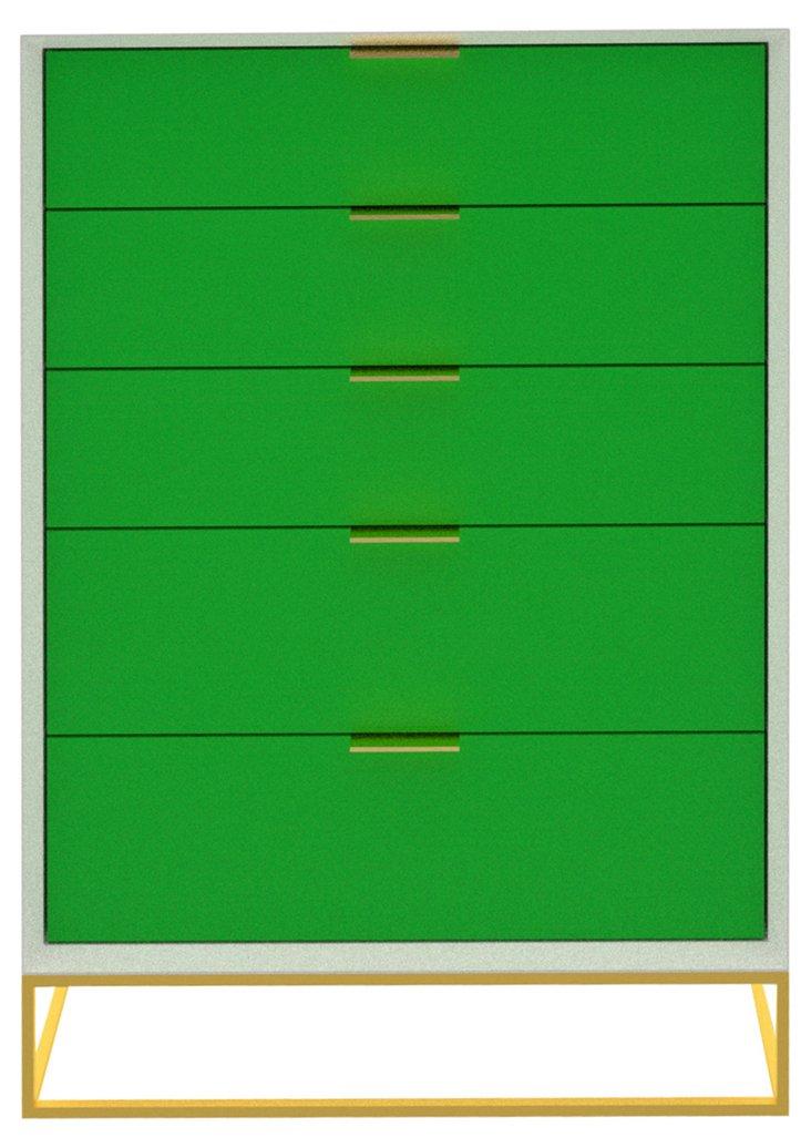 Allen Dresser, White/Green