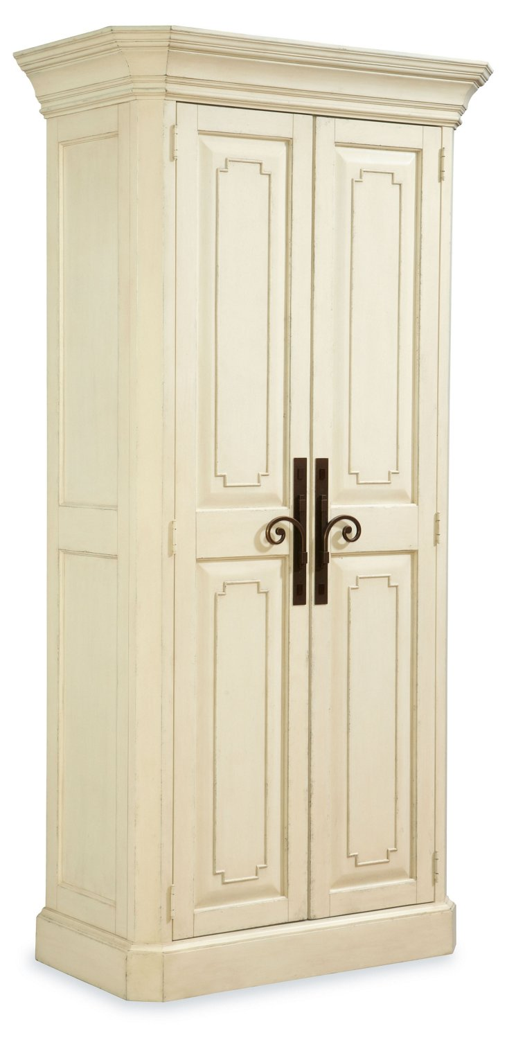 York Utility Cabinet, White