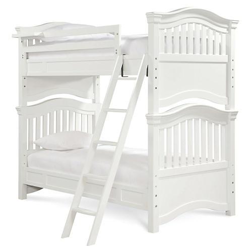Marlow Kids Bunk Bed, White