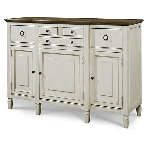 Sadie Serving Sideboard, White