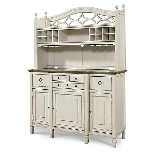 Summer Hill Hutch, White