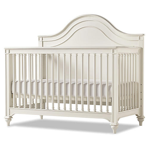 Dorothea Convertible Crib, White