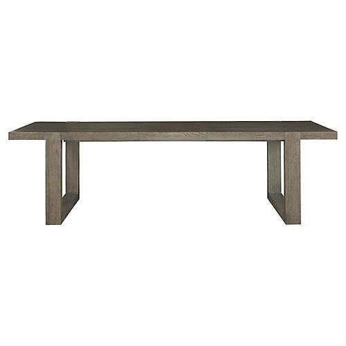 Desmond Extension Dining Table, Gray