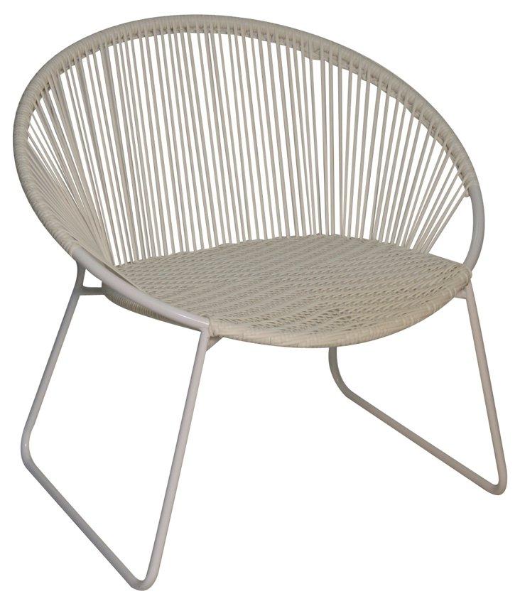 Antigua Chair, White
