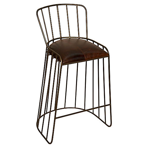 David Barstool, Dark Tobacco Leather