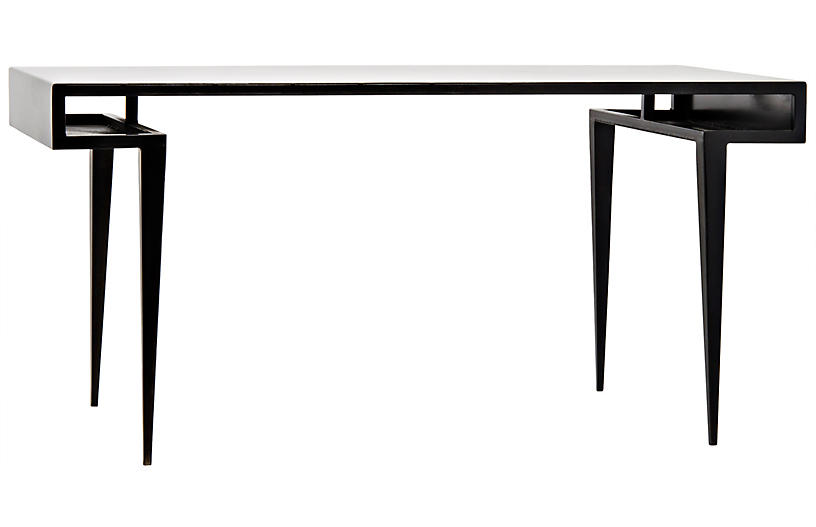 Stiletto Writing Desk, Black